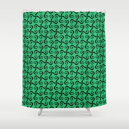 The Riddler 1966 Shower Curtain