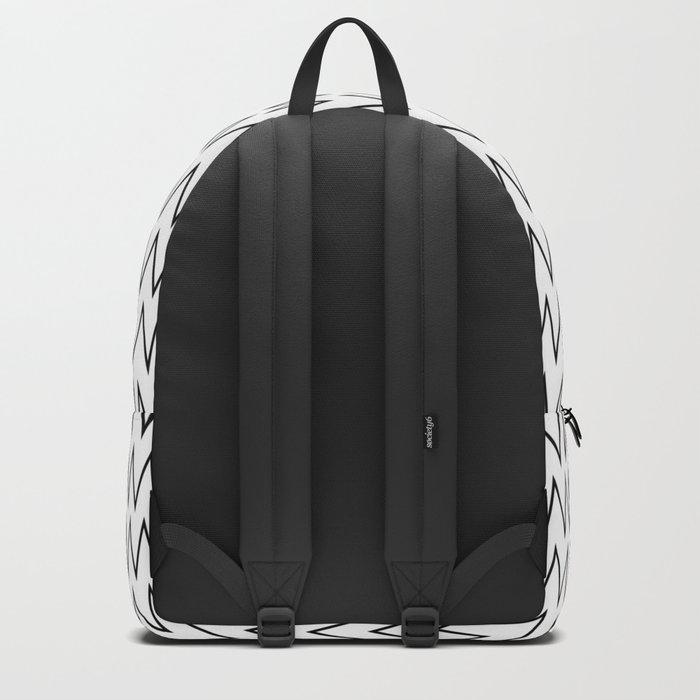 Minimalist Chevron Backpack