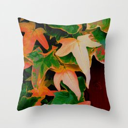 Colour Me Ivy Throw Pillow