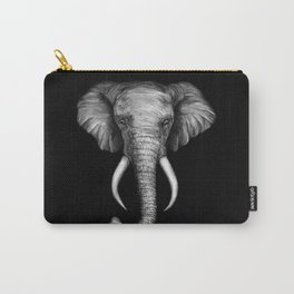 Elephant Head Trophy Carry-All Pouch