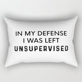 Left Unsupervised Rectangular Pillow
