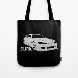 Nissan Silvia S15 - silver - Tote Bag