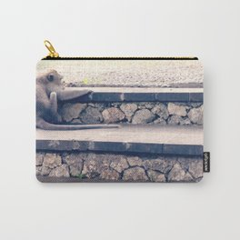 HOME SWEET HOME SERIES - MONKEY Carry-All Pouch