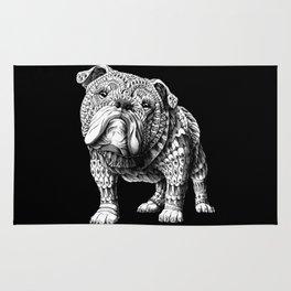 English Bulldog Rug