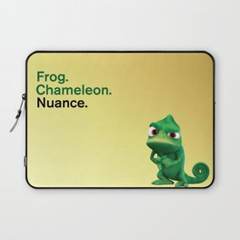 Nuance - Tangled - Gold Laptop Sleeve