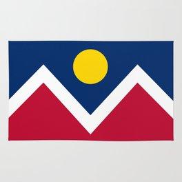 Denver City Flag - Authentic High Quality Rug