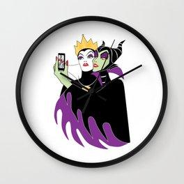 Wicked Selfie Wall Clock