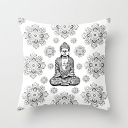 Buddha,HOME DECOR, 2,Graphic Design,Home Decor,iPhone skin,iPhone case,Laptop sleeve,Pillows,Bed,Art Throw Pillow