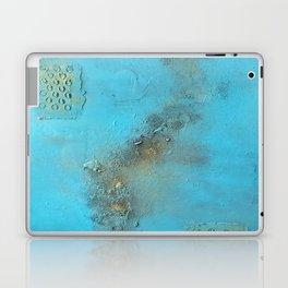 Earth. Texture. Blue. Jodilynpaintings. Brown. Abstract. Earths Crust. Laptop & iPad Skin