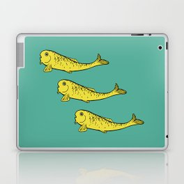 Yellow Fish Laptop & iPad Skin