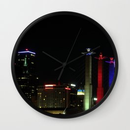 Downtown Kansas City Wall Clock