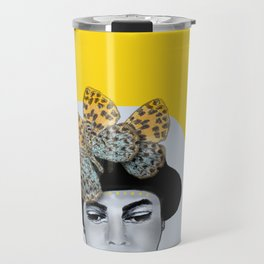 Butterfly Hat Travel Mug