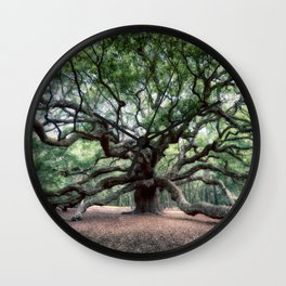 Oak of the Angels Wall Clock