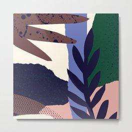 Pattern study Metal Print