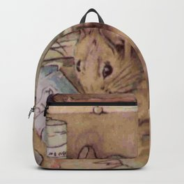 Naughty little mouse! Backpack