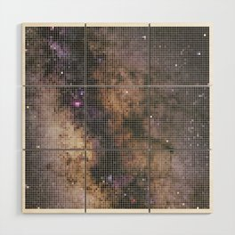 Milky Way Wood Wall Art