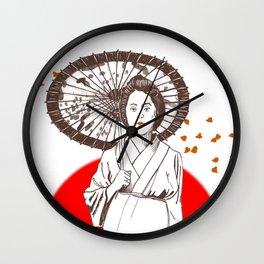 Farewell My Concubine Wall Clock