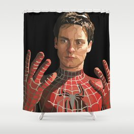 toby maguire Shower Curtain