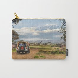 A trip in Tanzania Carry-All Pouch