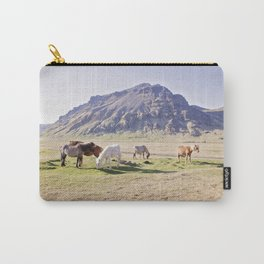 Colorful Horse Photograph Carry-All Pouch