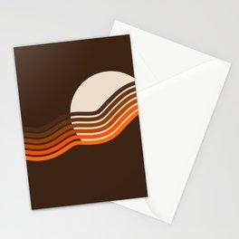 Sundown Stripes Stationery Cards