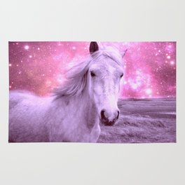 Pink Horse Celestial Dreams Rug