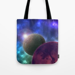 Space Expedition Tote Bag