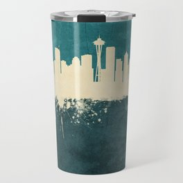 Seattle Washington Skyline Travel Mug