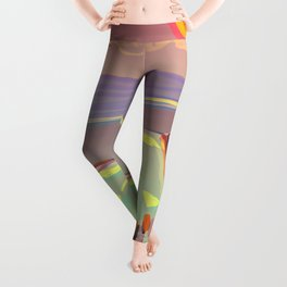 Red Moon Summer Vibrations Leggings
