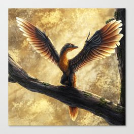 Archaeopteryx Lithographica Commission Canvas Print
