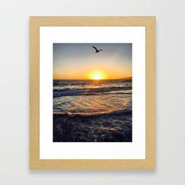 Santa Monica, CA Framed Art Print