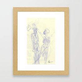 SEXES Framed Art Print