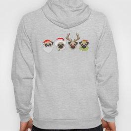 Christmas Pugs Hoody