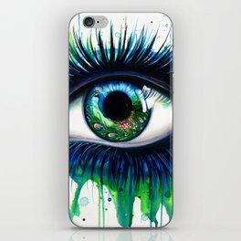 -The peacock- iPhone Skin