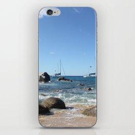 Sailing Boats at the Baths, BVI iPhone Skin