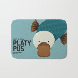 Hello Platypus Bath Mat
