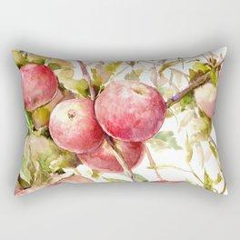 Apples on the Tree Rectangular Pillow