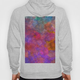 Colorful Untitled Abstract Hoody
