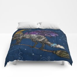 Midnight Vixen Comforters