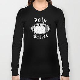 Polynesian Football Family Long Sleeve T-shirt