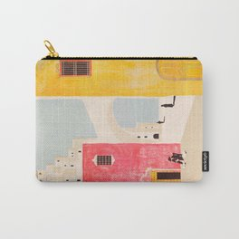 Spain Vintage Travel Poster Mid Century Minimalist Art Carry-All Pouch
