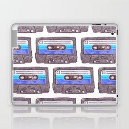 Cassette Pattern *Dark Blue Laptop & iPad Skin