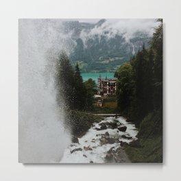 Lake Brienz Metal Print