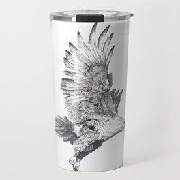 Red Tailed Hawk in Flight #2 Travel Mug