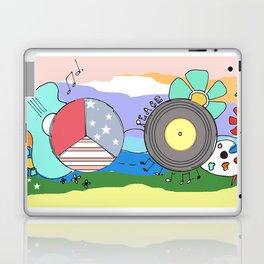 Hippie Life Laptop & iPad Skin