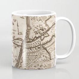 Vintage Map of Nuremberg Germany (1642) Coffee Mug
