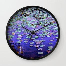 Zen Pond Wall Clock