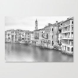 A view of Venice from Rialto Bridge Canvas Print