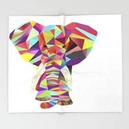 Emil Elephant Throw Blanket