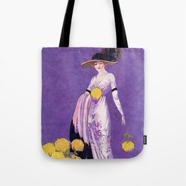 Vintage Lady from 1912 Tote Bag